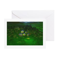 Angel Fish Greeting Card