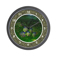 Angel Fish Wall Clock