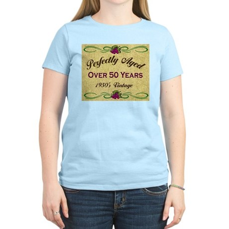 Over 50 Years Women's Light T-Shirt