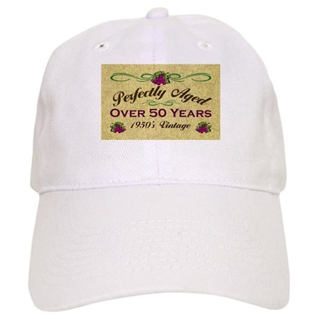Over 50 Years Cap