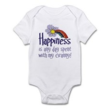 HAPPINESS IS DAY W/ GRANNY! Infant Bodysuit