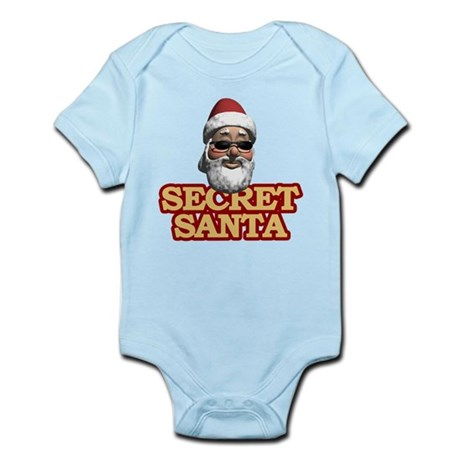 Secret Santa Infant Bodysuit