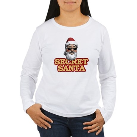 Secret Santa Women's Long Sleeve T-Shirt