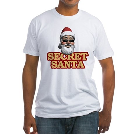 Secret Santa Fitted T-Shirt