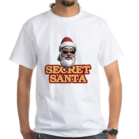 Secret Santa White T-Shirt