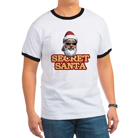 Secret Santa Ringer T