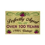 Over 100 Years Rectangle Magnet (10 pack)