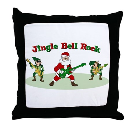 Jingle Bell Rock Throw Pillow