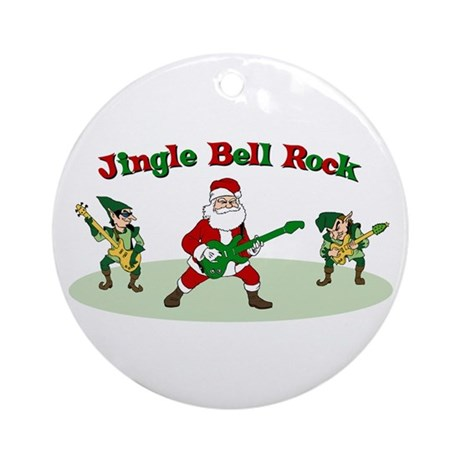 Jingle Bell Rock Ornament (Round)