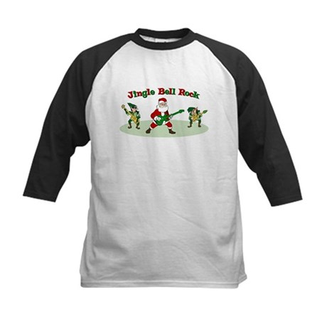 Jingle Bell Rock Kids Baseball Jersey