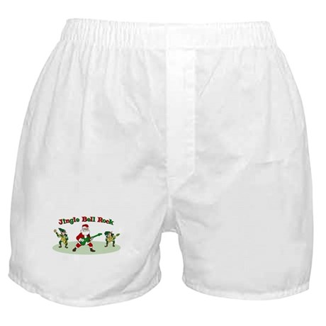 Jingle Bell Rock Boxer Shorts