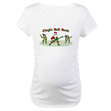 Jingle Bell Rock Maternity T-Shirt