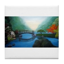 Japanese Garden Tile Coaster