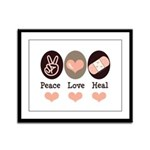 Heal Nurse Doctor Framed Panel Print