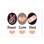 Heal Nurse Doctor Postcards (Package of 8)