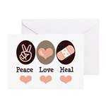 Heal Nurse Doctor Greeting Cards (Pk of 20)