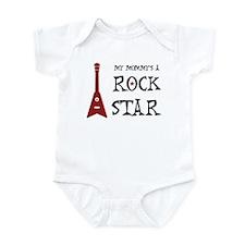 Rock Star Mommy Baby One Piece