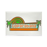 Copacabana Rectangle Magnet (10 pack)