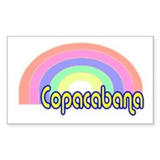 Copacabana Rectangle Decal
