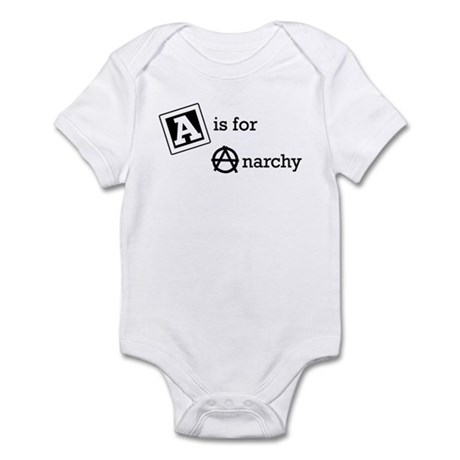 A is for Anarchy Infant One Piece