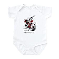 The White Rabbit Baby One Piece
