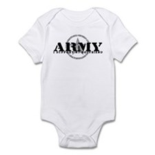 Army - I Support My Boyfriend Infant Bodysuit
