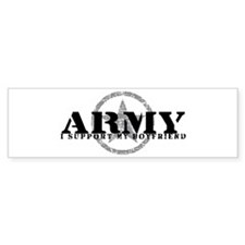 Army - I Support My Boyfriend Bumper Bumper Sticker
