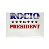ROCIO for president Rectangle Magnet