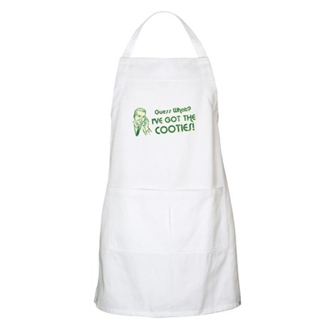I've Got the Cooties BBQ Apron