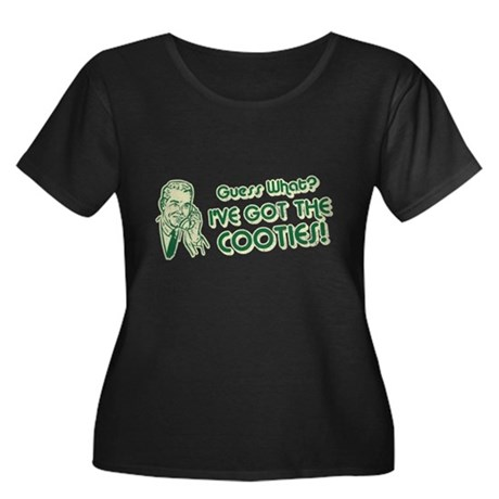 I've Got the Cooties Womens Plus Size Scoop Neck