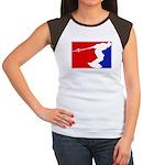 Major League Wakeboarding Women's Cap Sleeve T-Shi