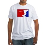 Major League Wakeboarding Fitted T-Shirt