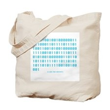 """I Love You Mommy"" in Binary -  Tote Bag"