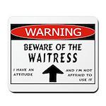 Waitress Mousepad