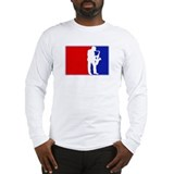 Major League Saxaphone Long Sleeve T-Shirt