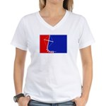 Major League Kites Women's V-Neck T-Shirt