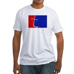 Major League Kites Fitted T-Shirt