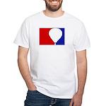 Major League Hot Air Balloon White T-Shirt