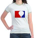 Major League Hot Air Balloon Jr. Ringer T-Shirt