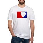 Major League Hot Air Balloon Fitted T-Shirt