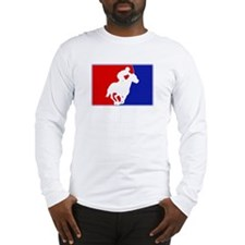 Major League Horse Racing Long Sleeve T-Shirt