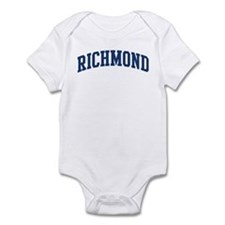 RICHMOND design (blue) Infant Bodysuit