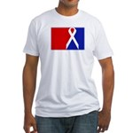 Major League Awareness Fitted T-Shirt