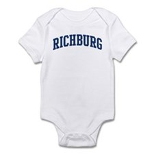 RICHBURG design (blue) Infant Bodysuit