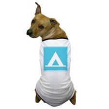 Camping Sign Dog T-Shirt