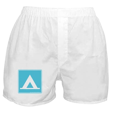 Camping Sign Boxer Shorts