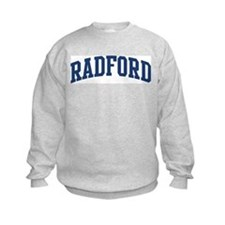 RADFORD design (blue) Sweatshirt