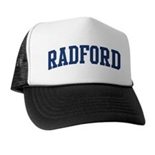 RADFORD design (blue) Trucker Hat