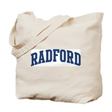 RADFORD design (blue) Tote Bag