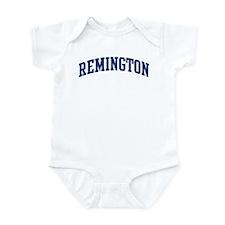 REMINGTON design (blue) Onesie